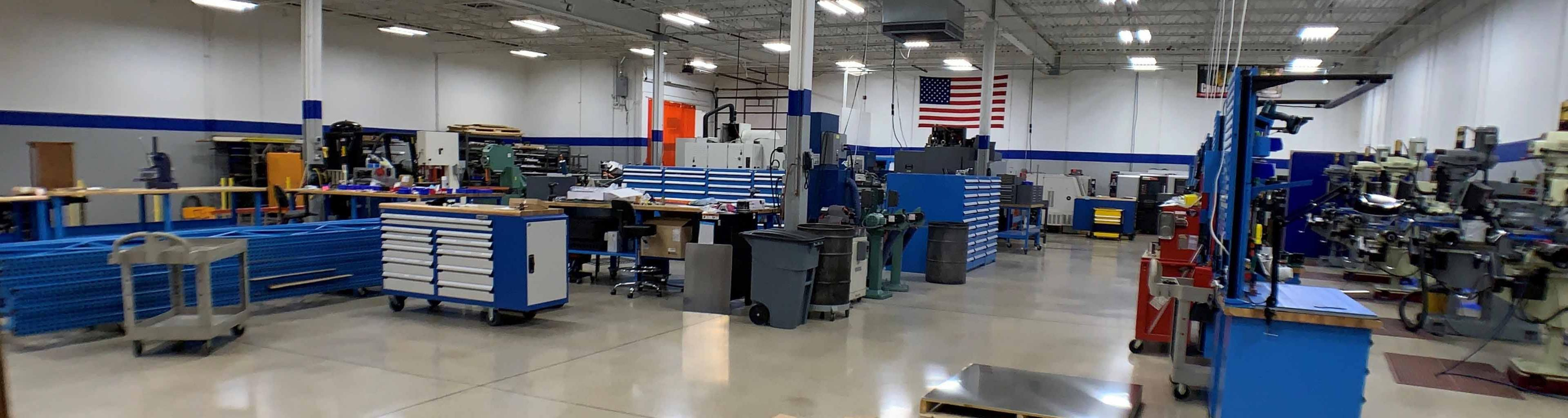 High Tech State of the Art Machine Shop